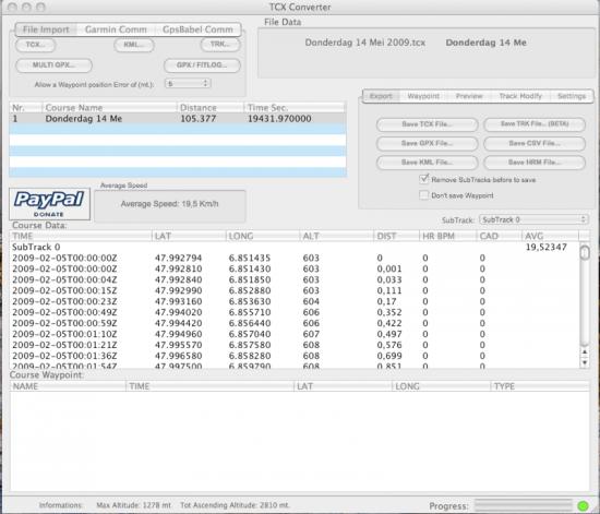 Converteren van gegevens - Support Waypoint